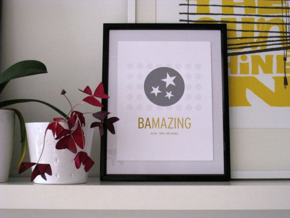 Bachelor of Arts BA Print by SomeoneCreative on Etsy
