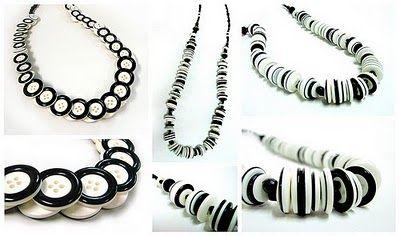 Collares y pulseras con botones en iManualidades.com: manualidades y bricolage