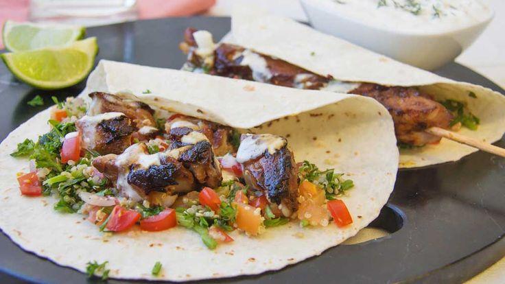 Kebab souvlaki recipe - 9Kitchen