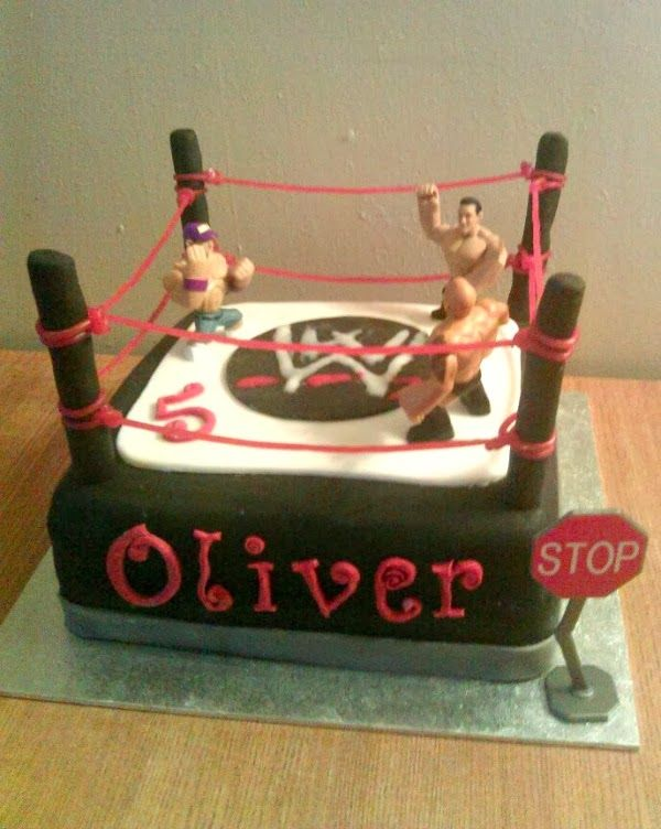 Wwe Birthday Cake Ideas D