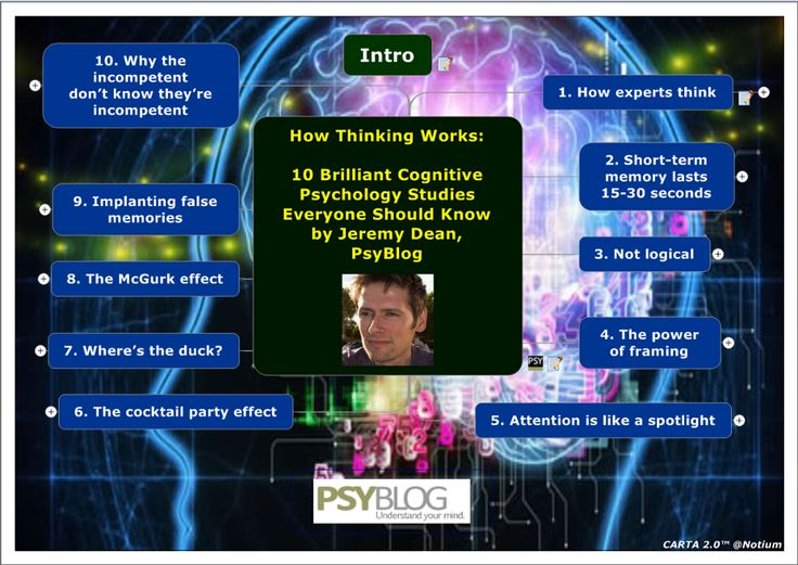 Touch this picture and dive deeper!: How Expert Thinking Works by Jeremy Dean, PsyBlog by Gallery of CARTA 2.0 StoryMaps