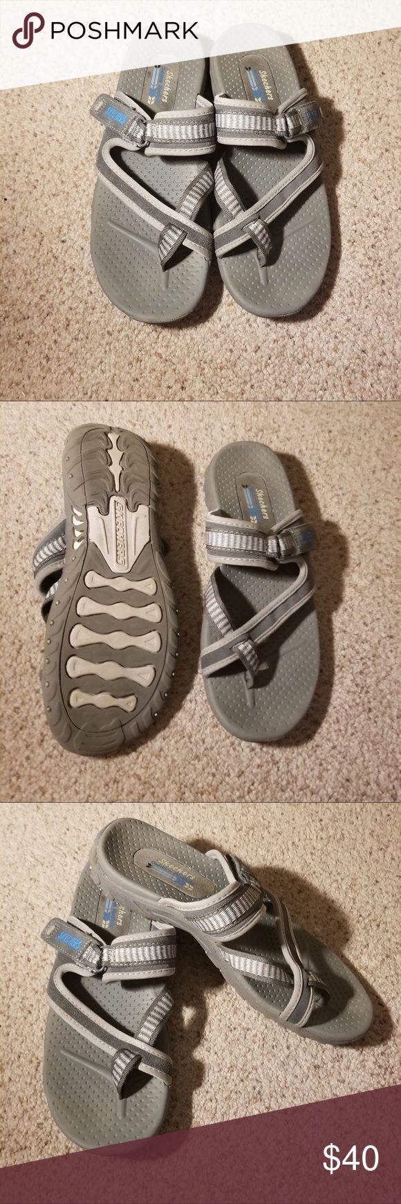 Men's Grey Slip On Skechers Men's Skechers Skechers Shoes Loafers & Slip-Ons