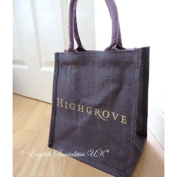 【Highgrove】Highgrove JuteEco Bag Purple SMALL ハイグローブ ジュートエコバッグ パープル スモール