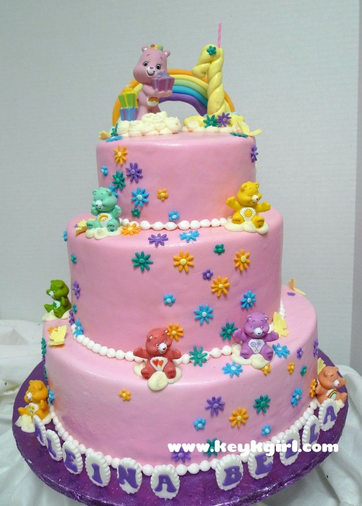 19 best Care Bear Cakes images on Pinterest Care bear cakes