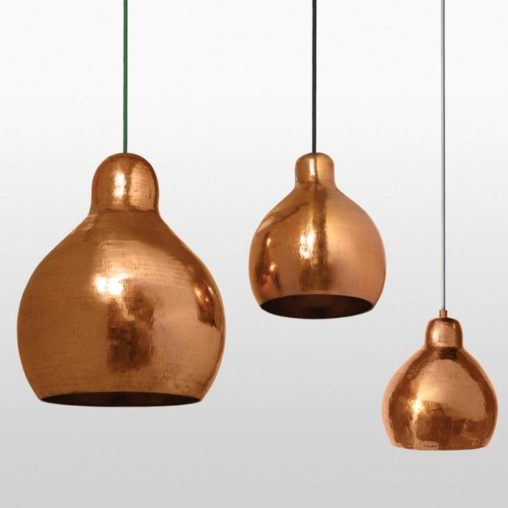 Godfrey - innovative lighting design in copper | Lightly $250 small (210mm)