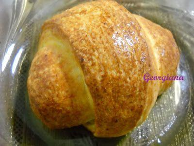 Just cooking!: Mini-croissant cu cremă de vanilie