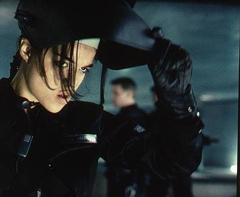 Michelle Rodriguez in the film Resident Evil: Retribution (2012)