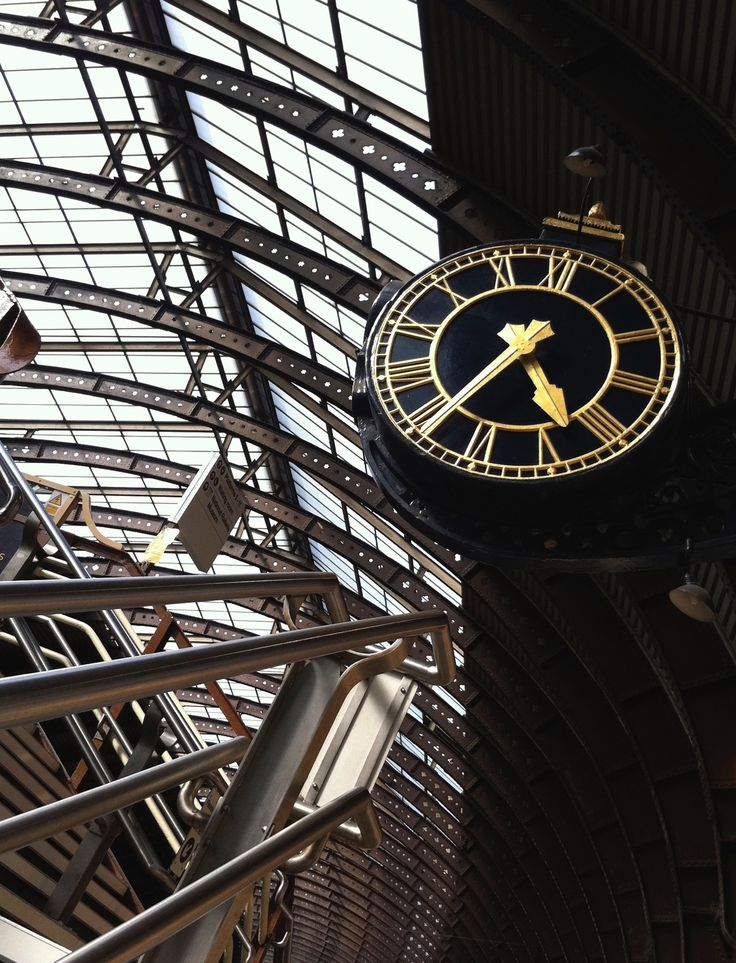 York Station clock