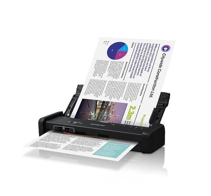 epson-scanner Epson Workforce: La línea de scanners veloces y portables