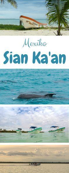 Sian Ka'an ist ein wunderschönes Naturschutzgebiet südlich von Tulum in Me…