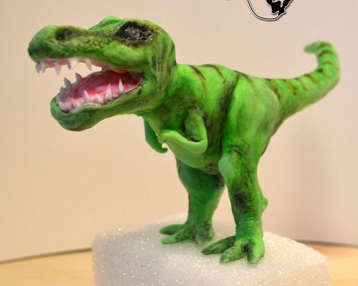 dinosuar cake topper