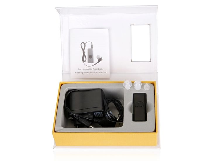 119.90$  Watch here - http://aliqvt.worldwells.pw/go.php?t=32740456668 - 2pcs/lot Best ITC In the Ear Digital Hearing Aid for elderly audifonos para sordos USB Rechargeable Hearing Aid S-95 119.90$