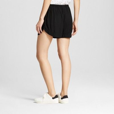 Women's Easy Casual Shorts - Mossimo Supply Co. Black L