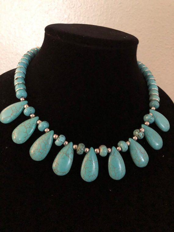"2# Beautiful  10mm  Blue Round  Turkey Turquoise  beads  Pendant /& Necklace18/"""