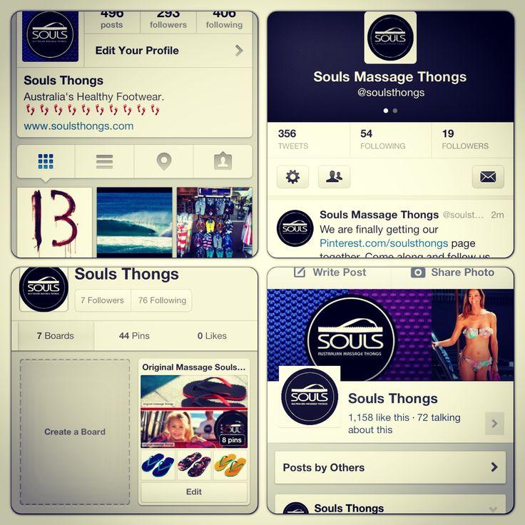 Follow us @Souls Thongs.com