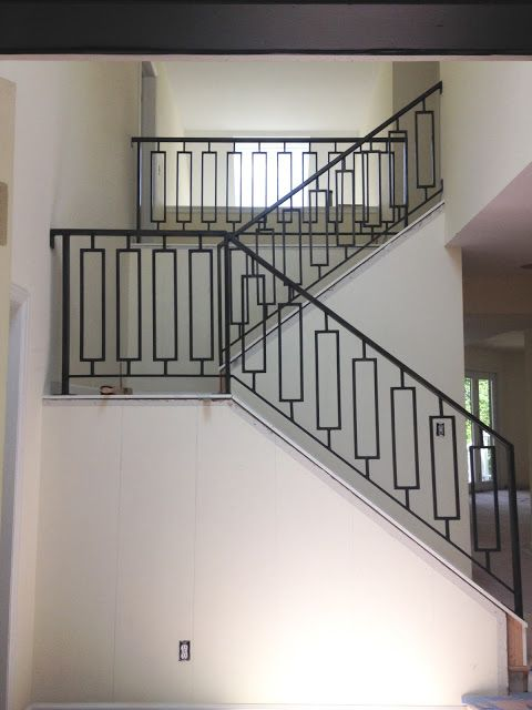 best 25 iron stair railing ideas on pinterest iron. Black Bedroom Furniture Sets. Home Design Ideas