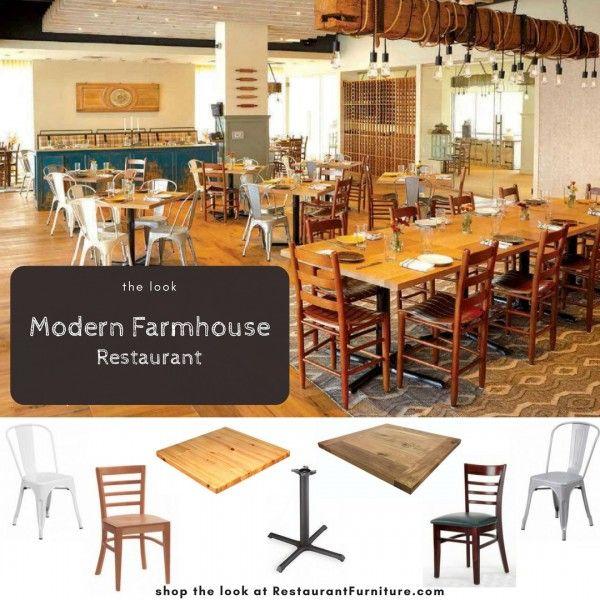 Modern Farmhouse Restaurant Furniture Design Shop The Look At RestaurantFurniture