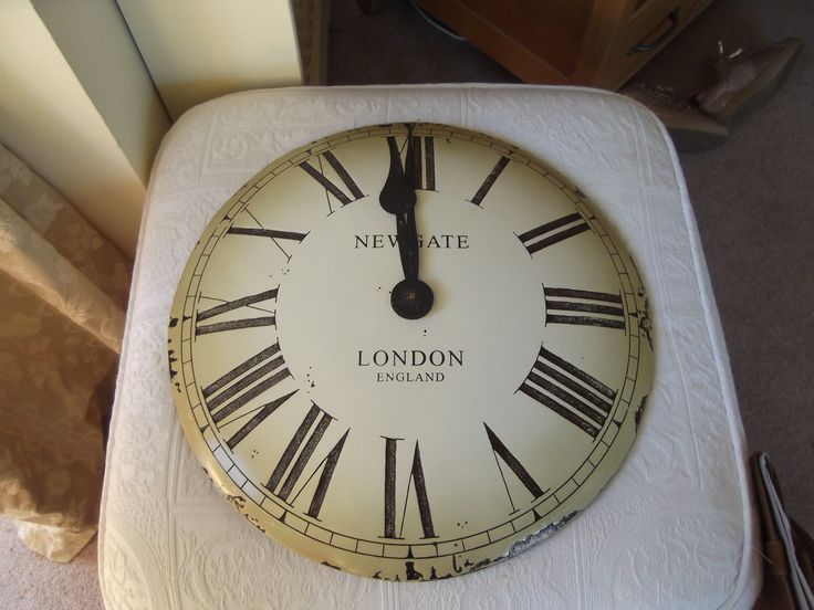 HOME STYLE| Vintage Style Large Newgate Clock | For Sale at www.deerandfawn.com