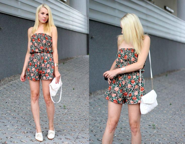 jumpsuit, kwiatowy kombinezon, mmday.pl nowy post