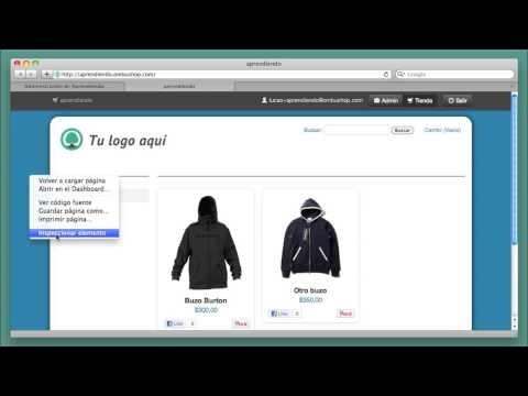 Crear tu Tienda Online: Cómo modificar el color y la imagen de fondo #tutorial #disenoweb