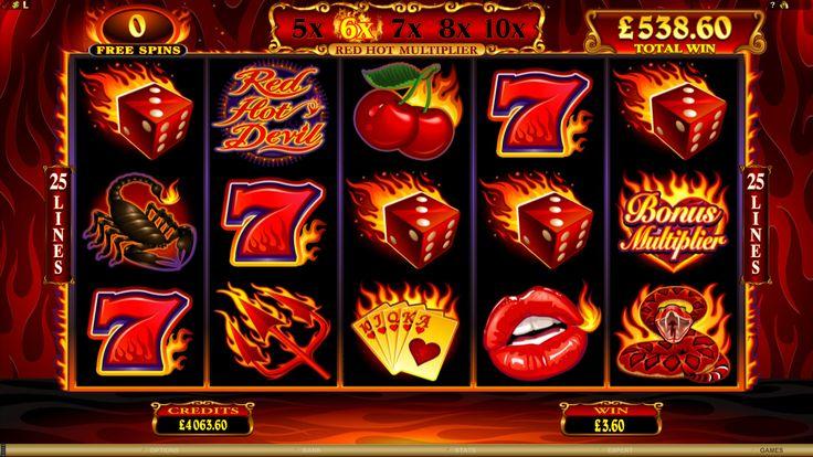 Red Hot Devil Online Slot Game