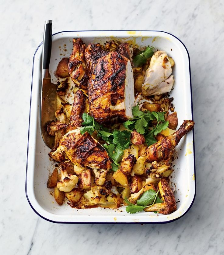 Roast Tikka Chicken - The Happy Foodie