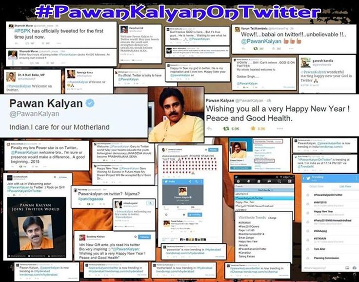 Pawan Kalyan gets thunderous welcome on Twitter - read complete news click here.... http://www.thehansindia.com/posts/index/2015-01-02/Pawan-Kalyan-gets-thunderous-welcome-on-Twitter-124135