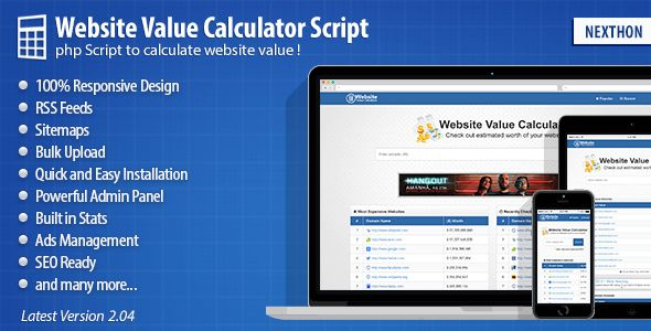 Experience the best statistics calculating script ever made. Website Value Calculator is the most unique and. All links checked by VirusTotal.Com