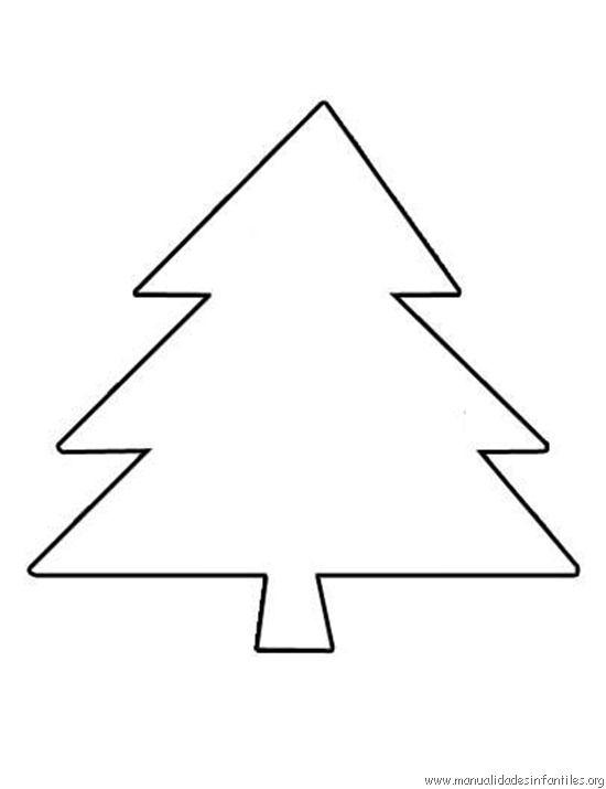 Árbol de Navidad para colorear | Proyectos que intentar | Pinterest ...