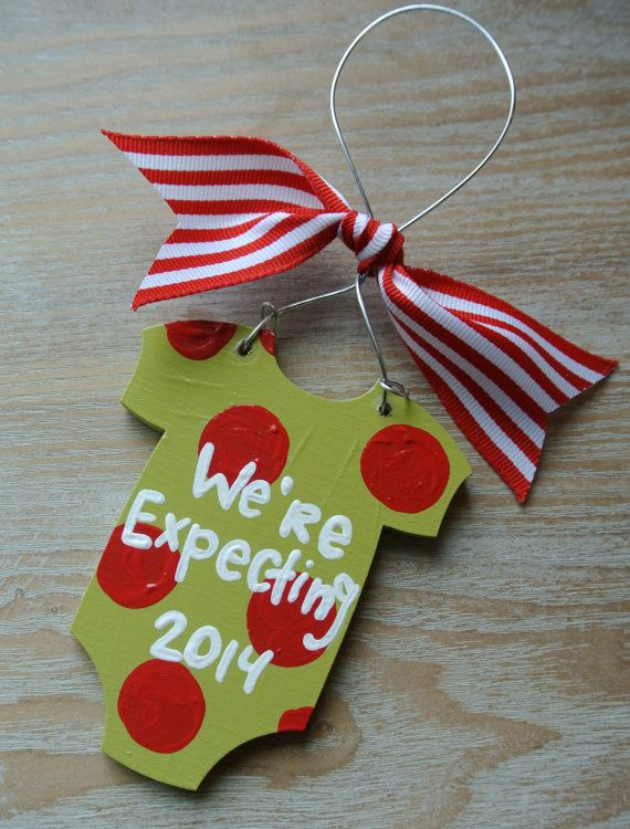 Hey, I found this really awesome Etsy listing at https://www.etsy.com/listing/211861394/were-expecting-baby-christmas-ornament
