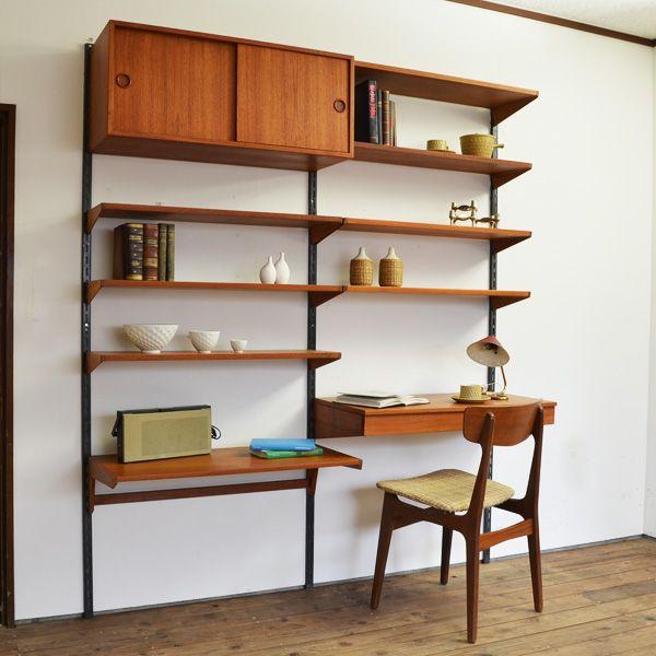 Vintage shelve + desk