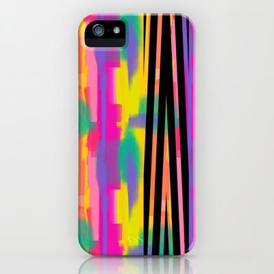Zig Paint iPhone Case by Nina May  - $35.00