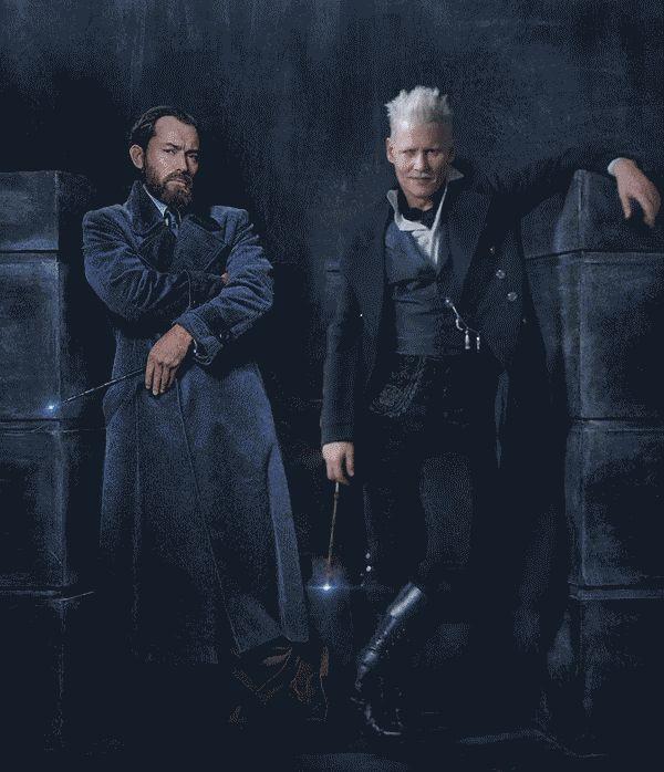 Fantastic Beasts: The Crimes of Grindelwald    Albus Dumbledore (Young) & Gellert Grindelwald