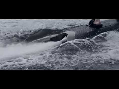 Electric powered wakeboard by RADINN - http://wakeboardinghq.net/electric-powered-wakeboard-by-radinn/