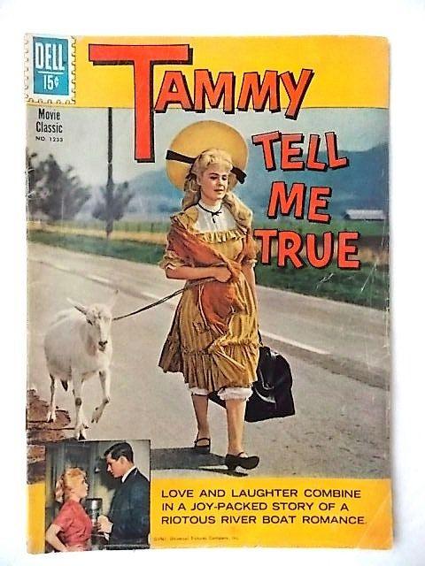 Vintage 1961 Tammy Tell Me True Comic Book, Sandra Dee Dell Movie Classic