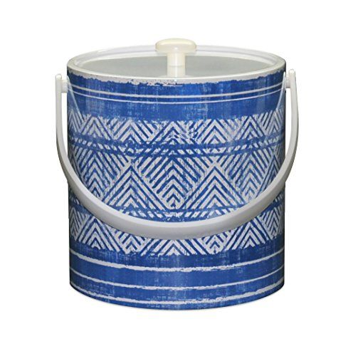 Mr Ice Bucket Blue Weave Ice Bucket 3Quart -- You can find out more details at the link of the image.