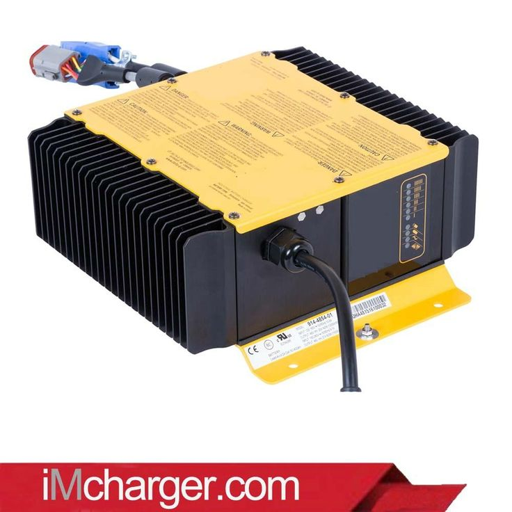 36 volt charger for sweeper