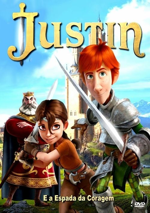Watch Justin and the Knights of Valour (2013) Full Movie Online Free