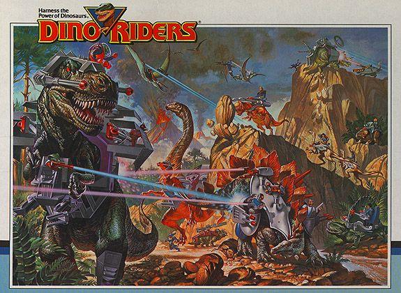 STA: Dino Riders: Toy line Series 2 (1989)
