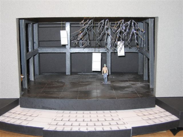 how to make a theatre model box