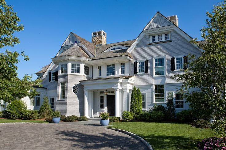107 best beach house exterior colors images on pinterest for Shingle style architecture