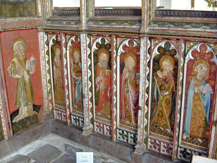 68 best images about medieval painted church woodwork on