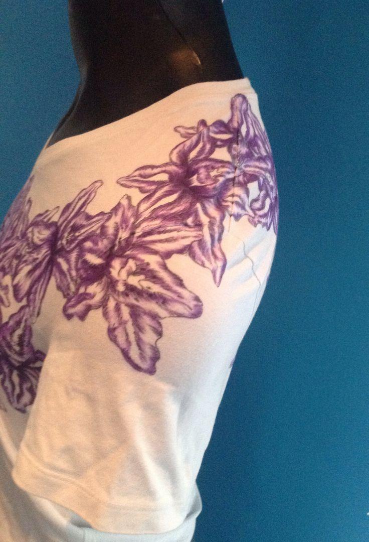 Orchid design detail