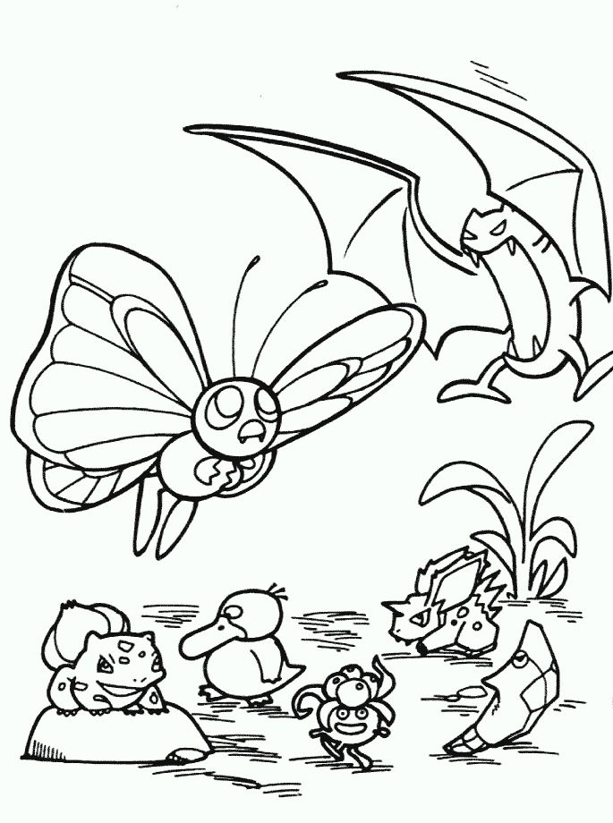 130 Best Pokemon Coloring Pages Images On Pinterest