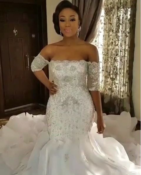 Nigerian wedding dresses for brides who love bling from Darius ...