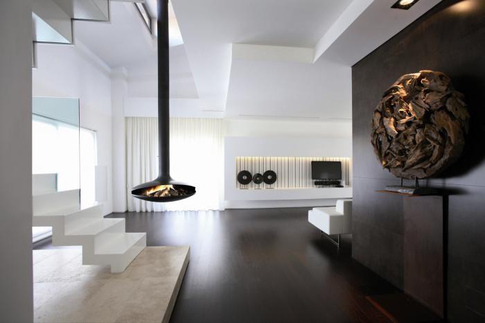 Moderne vrijhangende haard met een ovale / ronde vorm | Profires partner Open-Haarden Centrum Vlaardingen · inspiratie voor sfeerverwarming