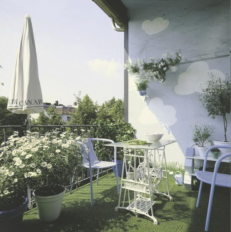 Ideas para organizar y #decorar la #terraza