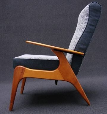 Fred Lowen; #SC55 Armchair for Fler, 1955.