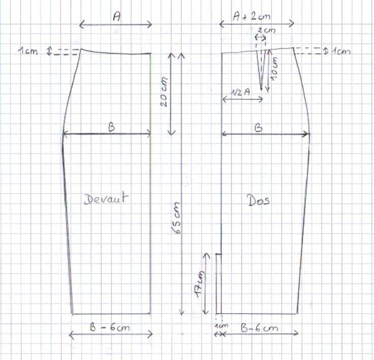 Tuto DIY jupe taille haute, explications                                                                                                                                                                                 Plus
