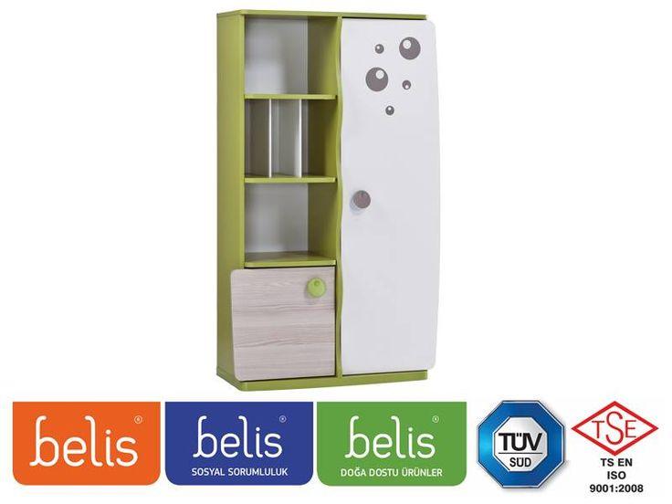 Belis Booble Kitaplık TR5128 | Kitaplık | E-Belis - Bebek Odası,Bebek Karyolası